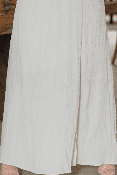 Vestido Longo Crepe Anarruga - Moda Evangélica Kauly (3203 E)