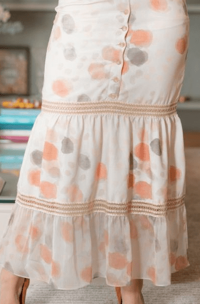 Vestido longo Crepe - Moda Evangélica Kauly (3138 E)