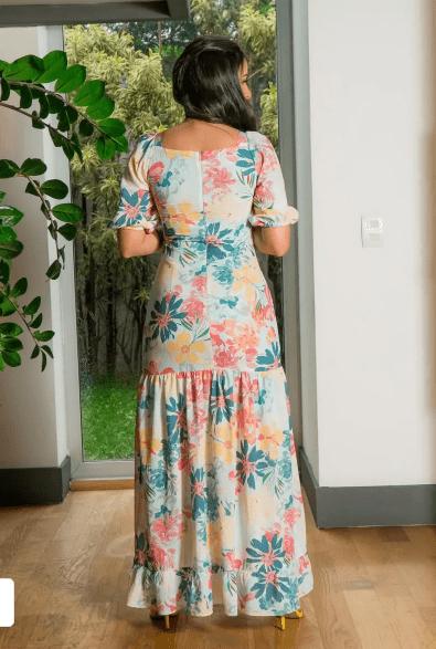 Compra Pagamento C 2 Cartões Vestido Longo Em Crepe - Moda Evangélica Luciana Pais (92855 E)