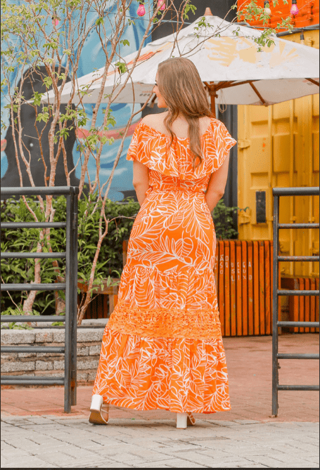 Vestido Longo Em Viscose - Moda Evangélica Joyaly (30777 T)