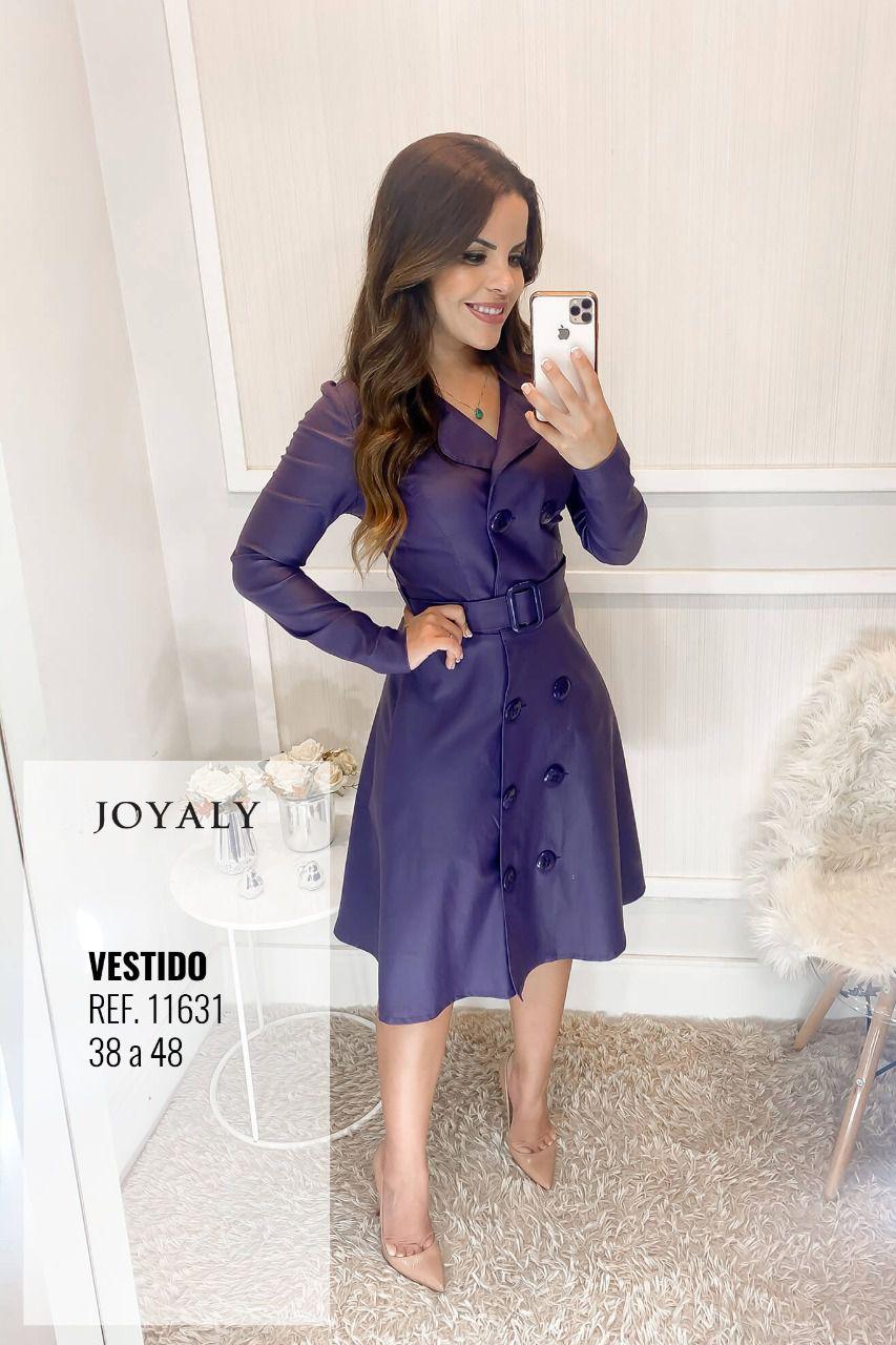 Vestido Milano - Moda Evangélica Lançamento Joyaly (11631)