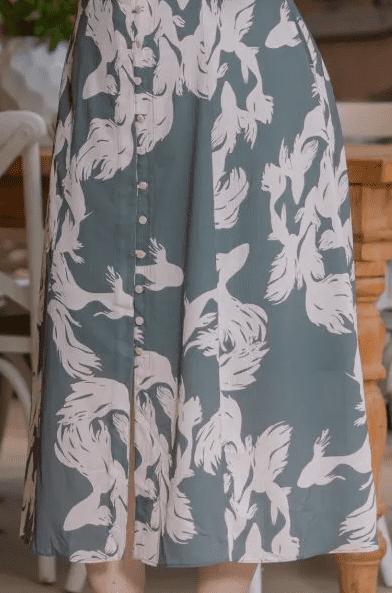 Vestido Plus Size Crepe - Moda Evangélica Kauly (3198 T)