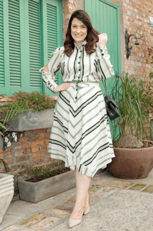 Vestido Plus Size Em Crepe - Lançamento Kauly (2835 T)