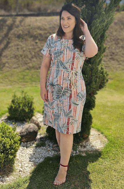 Vestido Tubo Alfaiataria - Moda Evangélica La Seve (9240 T)
