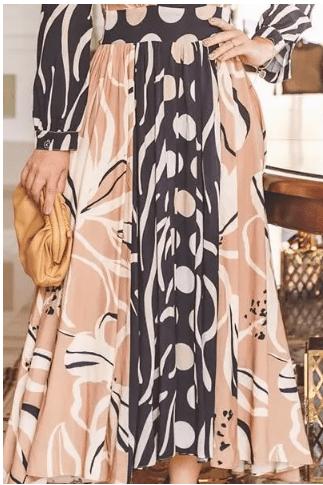 Vestido Viscose com Comprimento Maxi - Lançto Kauly (2807 T)