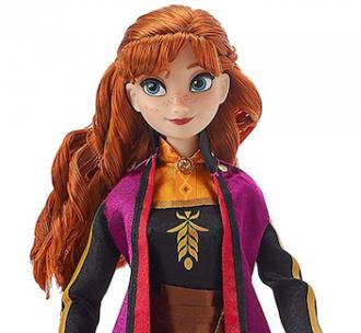 Boneca Anna Frozen 2 Que Canta Disney Princesa Original USA