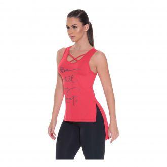 Camiseta regata em malha AQUA com proteção UV50+ no tecido