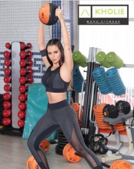 Conjunto Fitness Legging + Top Roupa Academia Feminina