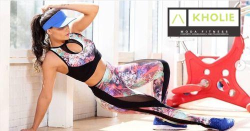 Legging Fitness Estampada Crossfit Roupa de Academia