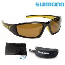 4a2ff086b Óculos Shimano Beastmaster polarizado para pesca - preto e amarelo - lente  marrom - flutuante