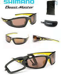 e0d8695a5 ... Óculos Shimano Beastmaster polarizado para pesca - preto e amarelo - lente  marrom - flutuante ...