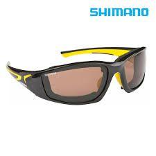 fdcdbb428 ... Óculos Shimano Beastmaster polarizado para pesca - preto e amarelo - lente  marrom - flutuante