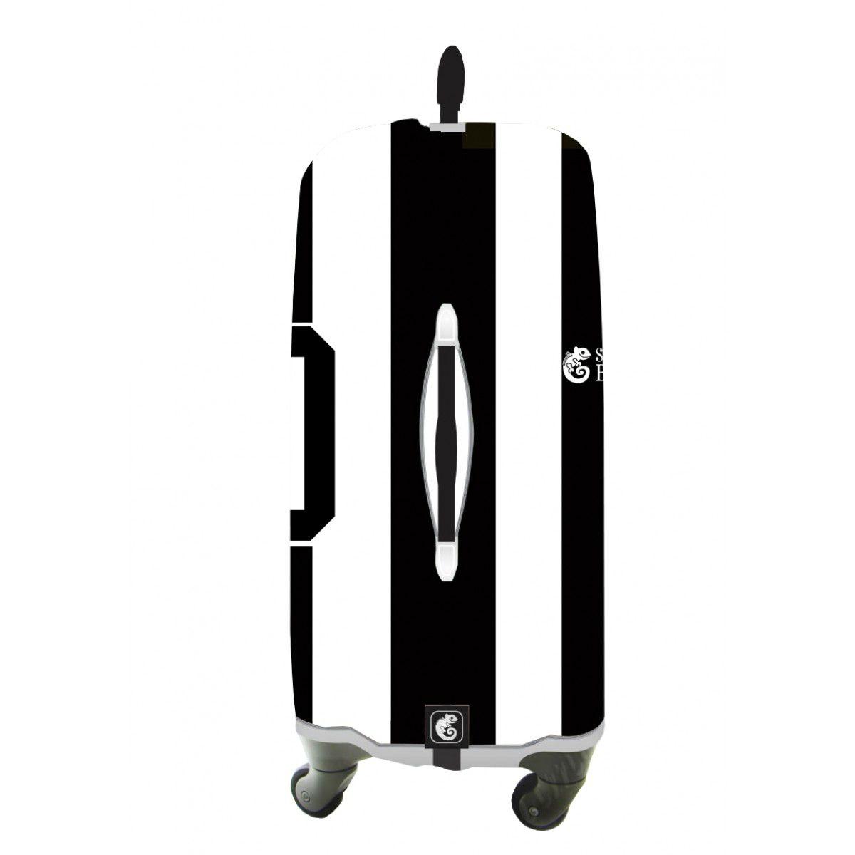 Capa Para Mala Alvinegro - Skinbag