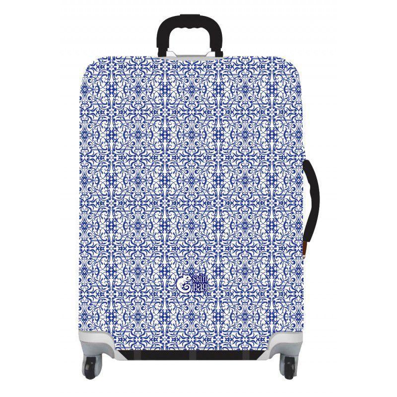 Capa Para Mala Azulejo Português