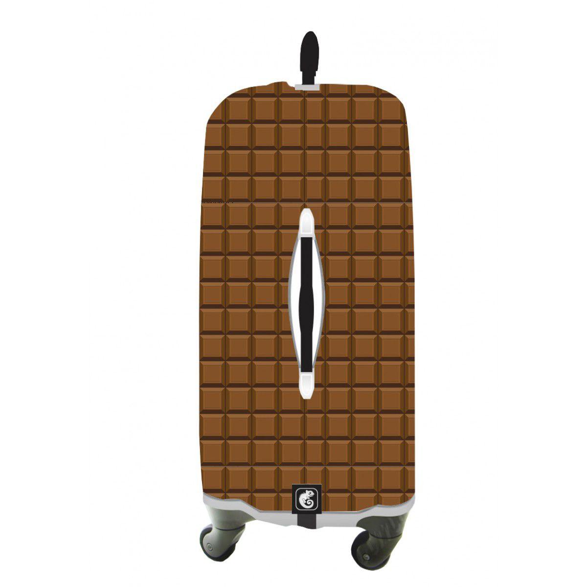 Capa Para Mala Chocolat