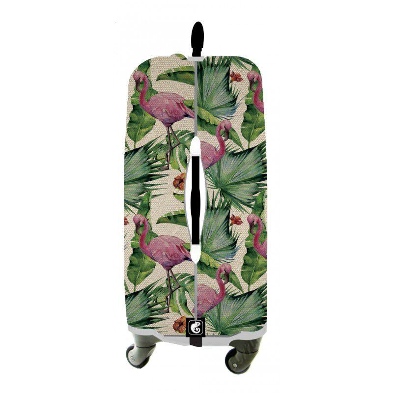 Capa Para Mala Flamingo