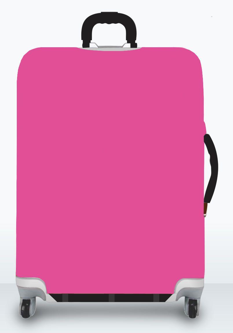Capa Para Mala Lisa Pimenta Rosa