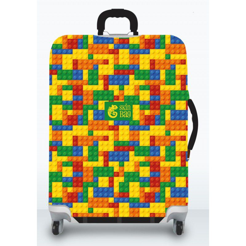 Capa Para Mala Puzzle + Identificador de Bagagem