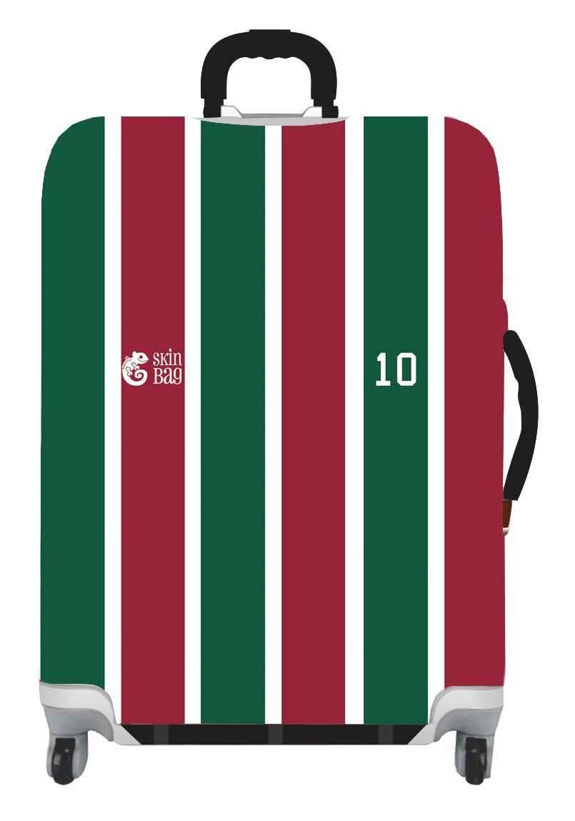 Capa Para Mala Tricolor