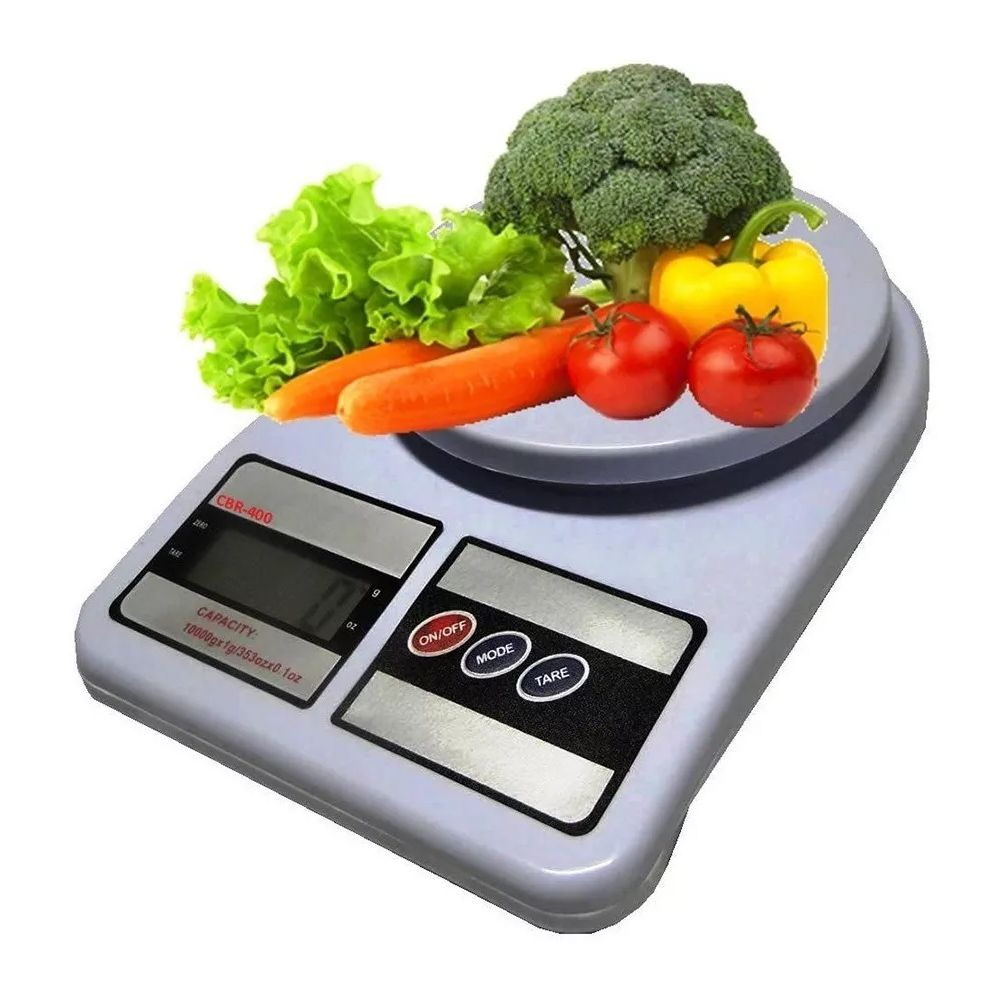 Balança Eletronica Digital de Alta Precisão 1g À 10Kg Cozinha Alimentos