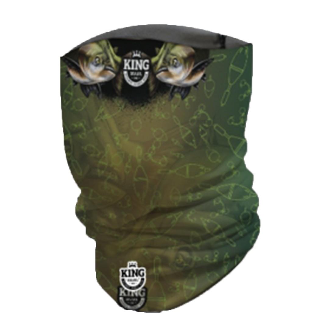 Bandana Mascara Pesca King com Proteção Solar UV 02 Tambaqui