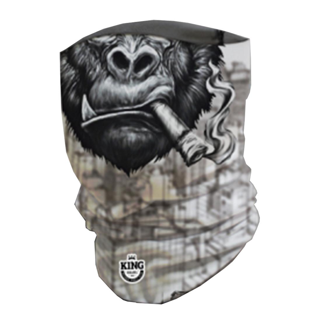 Bandana Mascara Pesca King com Proteção Solar UV 03 Gorilax Nova