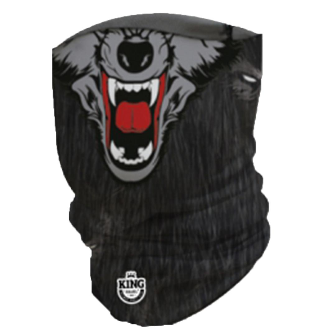 Bandana Mascara Pesca King com Proteção Solar UV 04 Lobo