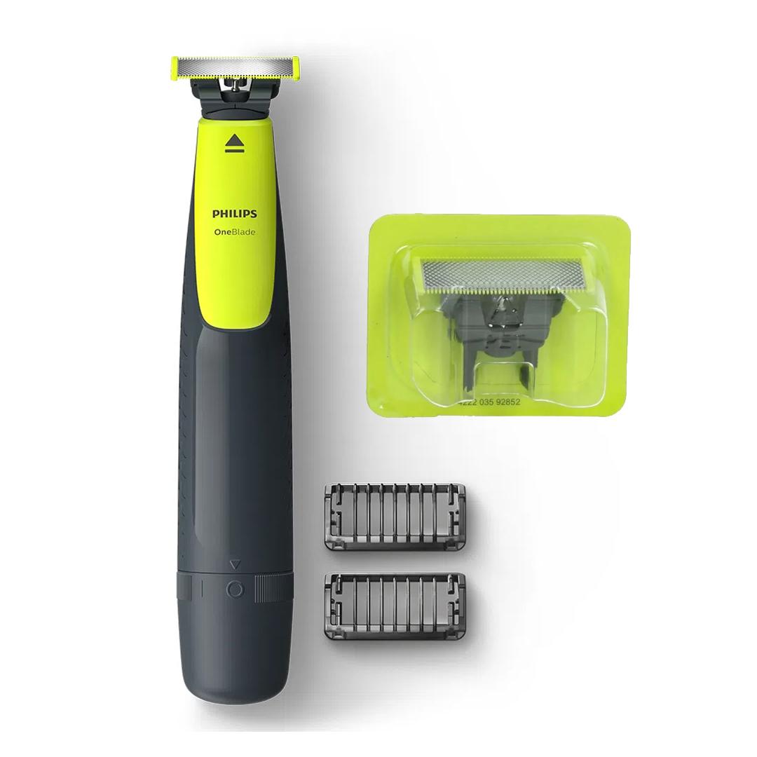 Barbeador Aparador Elétrico Philips One Blade Qp2510/15 + 1 Lâmina Refil