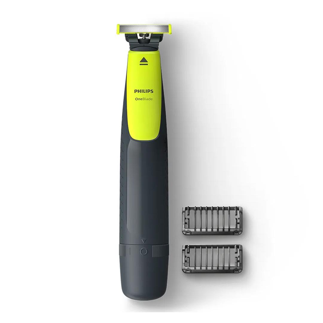 Barbeador Aparador Elétrico Philips One Blade Qp2510/15 c/ Lâmina Dupla Face