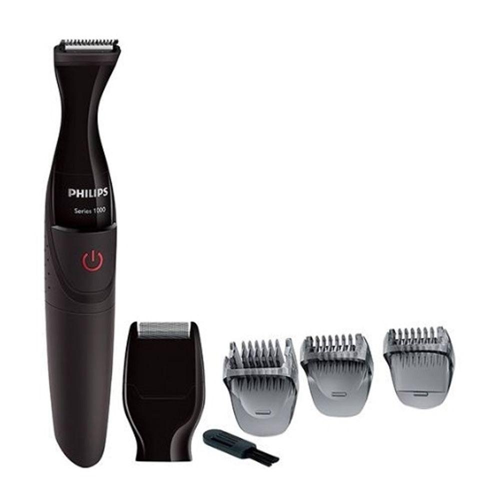 Barbeador e Aparador de Pelos Philips MG1100/16 2 em 1 À Prova D'água