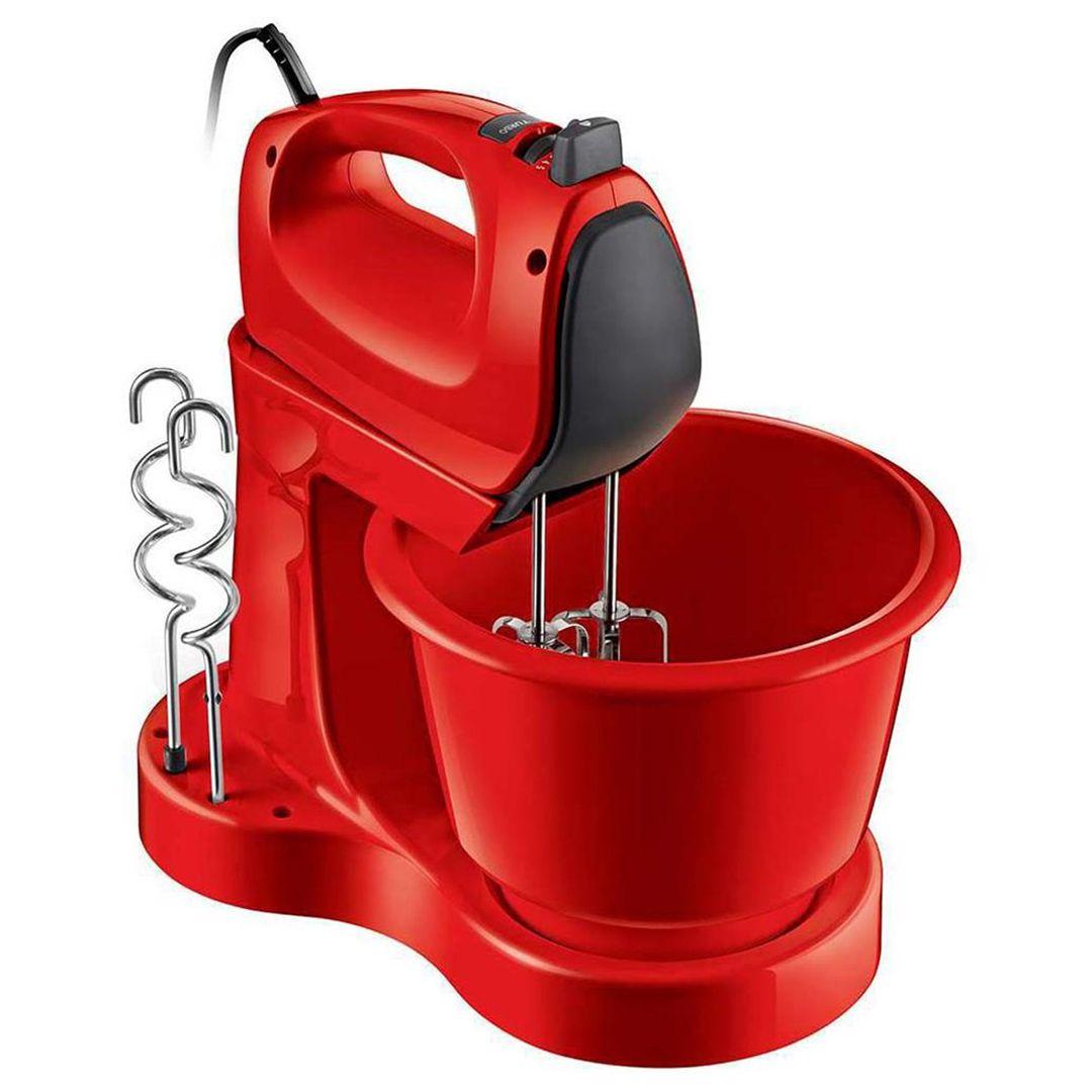 Batedeira Philips Walita Viva Collection RI7200 400W Função Mixer e Tigela de 3,5L Vermelha