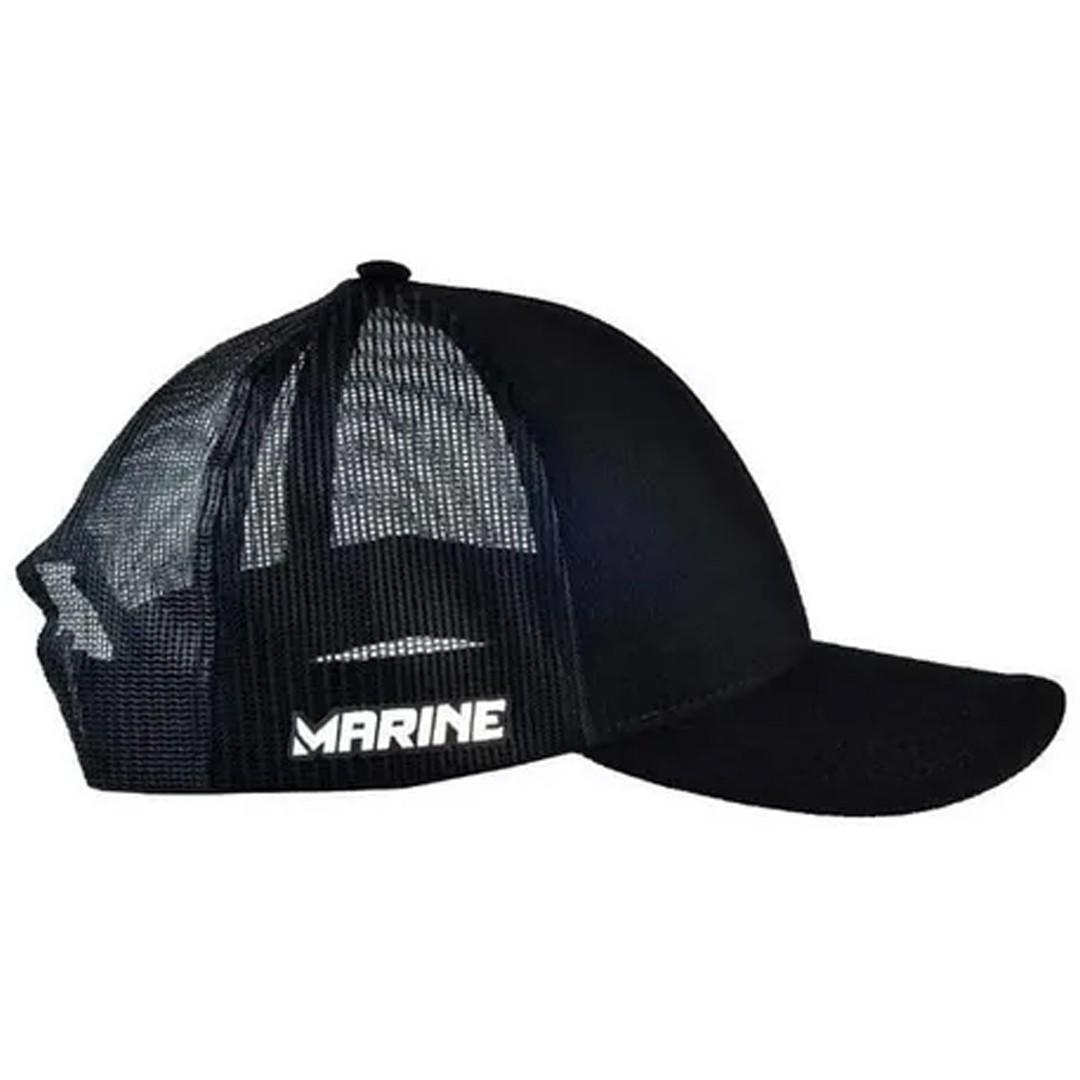 Boné Pesca Ajustável Marine Sports Americano Premium Preto