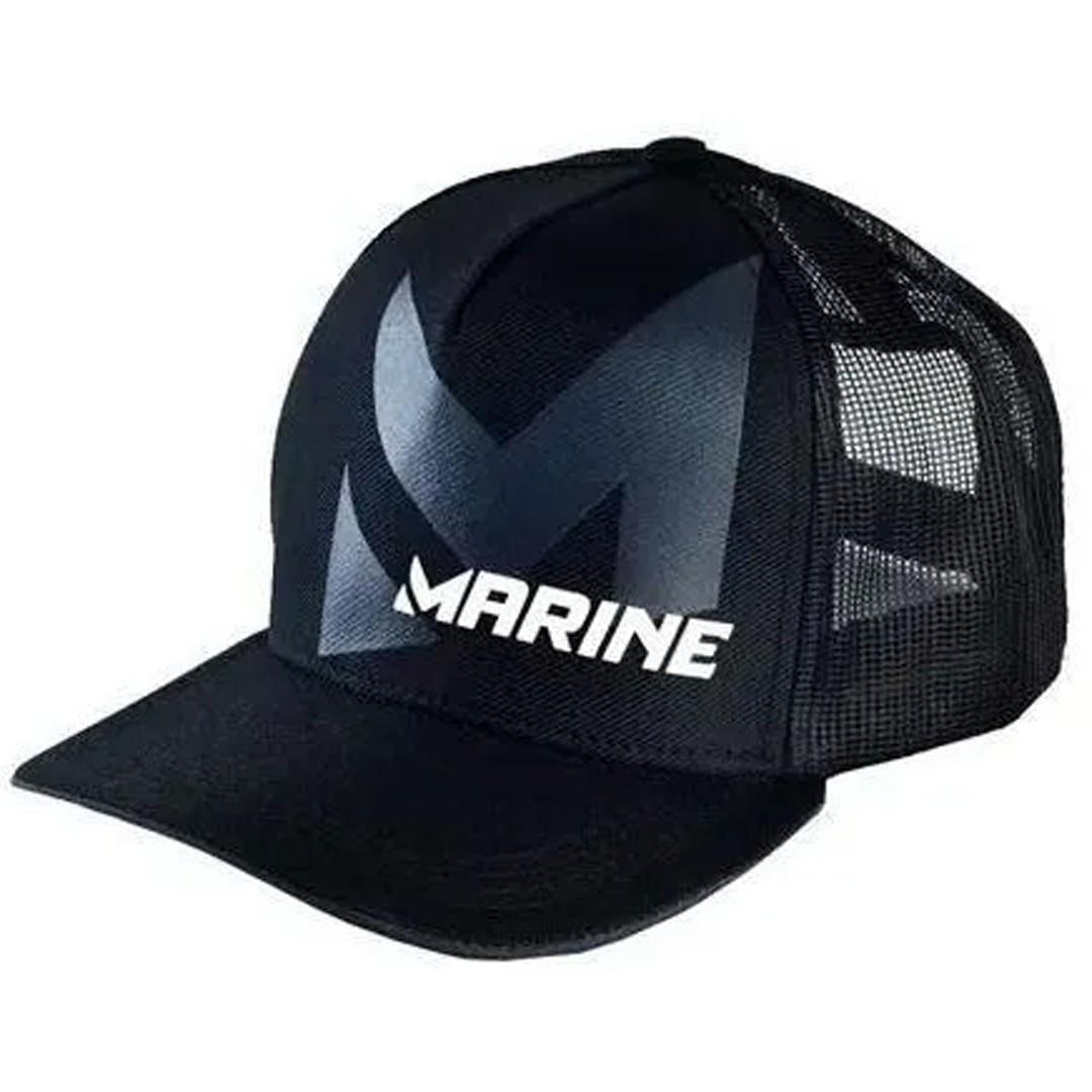 Boné Pesca Ajustável Marine Sports Americano Preto