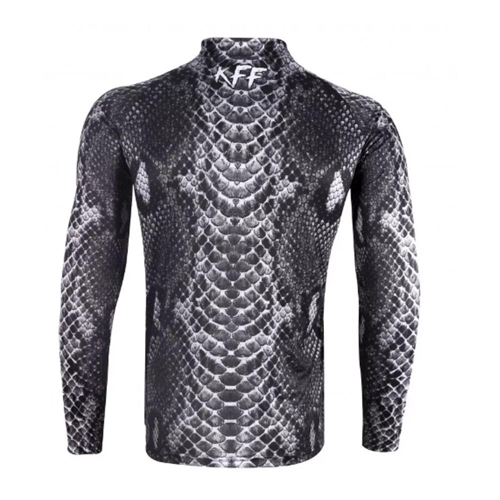Camiseta de Pesca Proteção Solar UV King Cobra KFF70 + Bandana Caveira