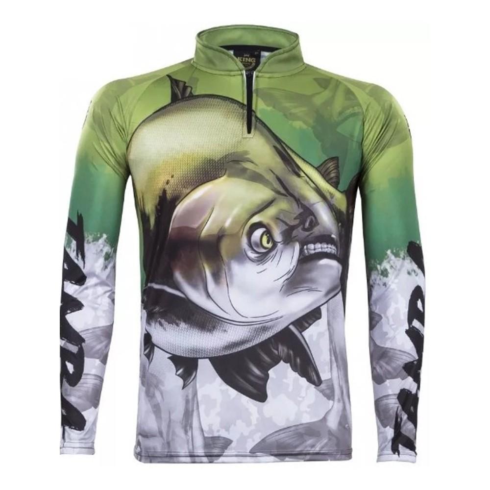 Camiseta de Pesca Proteção Solar UV King Tamba KFF205