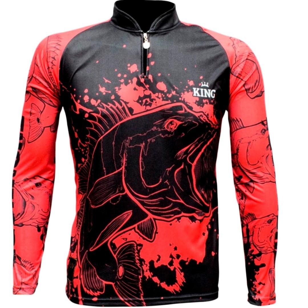 Camiseta de Pesca Proteção Solar UV King Tucunaré KFF607