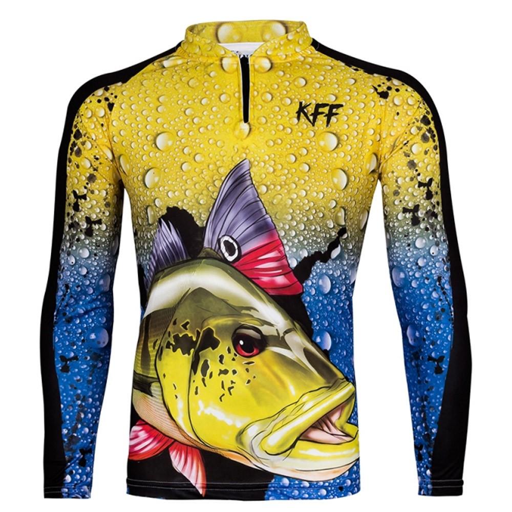 Camiseta de Pesca Proteção Solar UV King Tucunaré KFF60