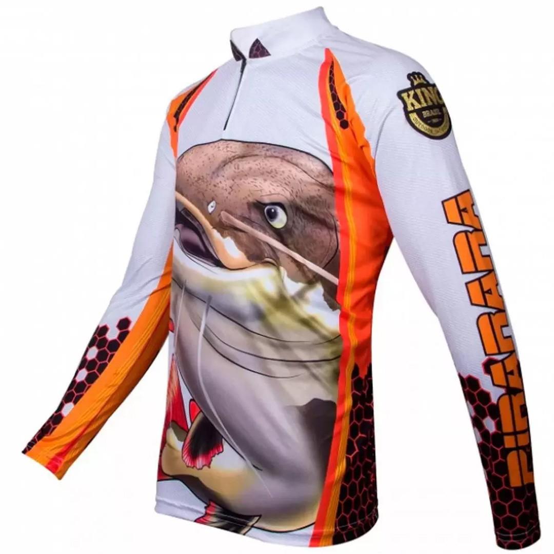 Camiseta Pesca com Proteção Solar UV King Pirarara KFF102
