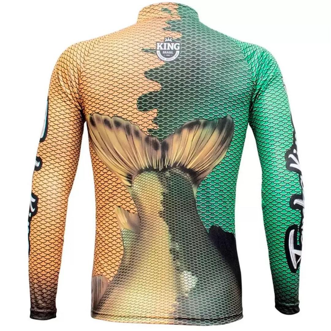 Camiseta Pesca com Proteção Solar UV King Tambqui KFF605