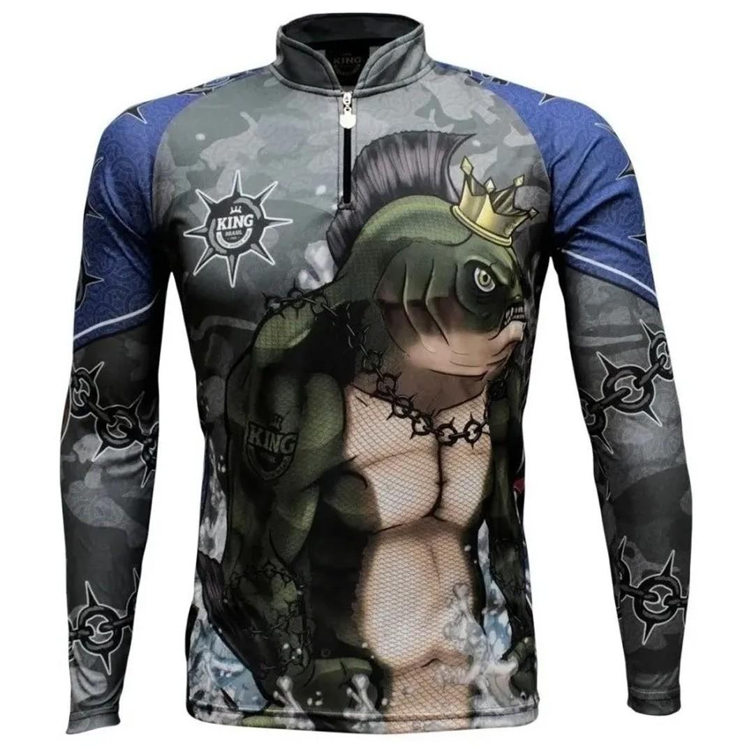 Camiseta Pesca com Proteção Solar UV King Tambrutus KFF501