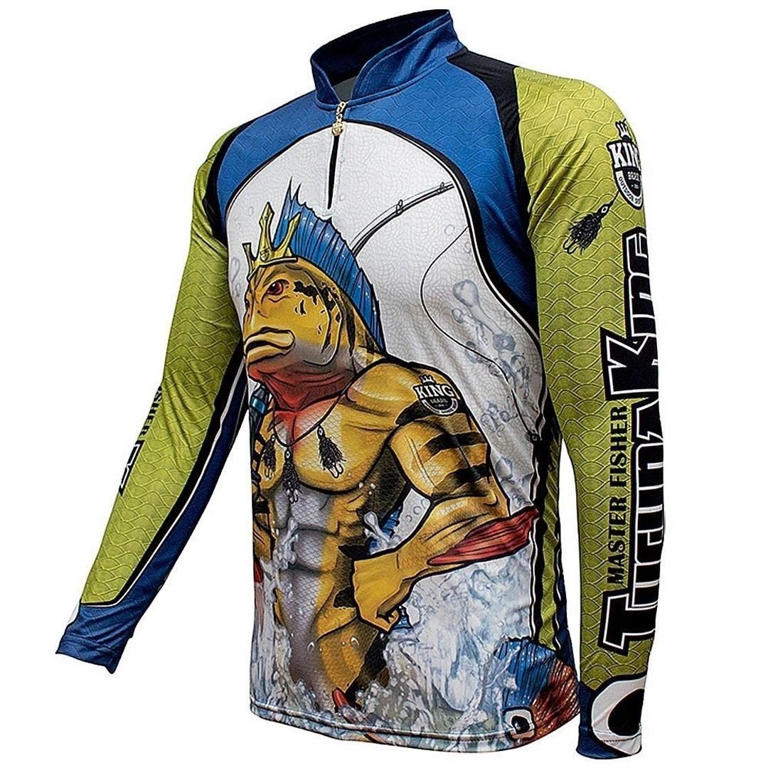 Camiseta Pesca com Proteção Solar UV King TucunaKing KFF503