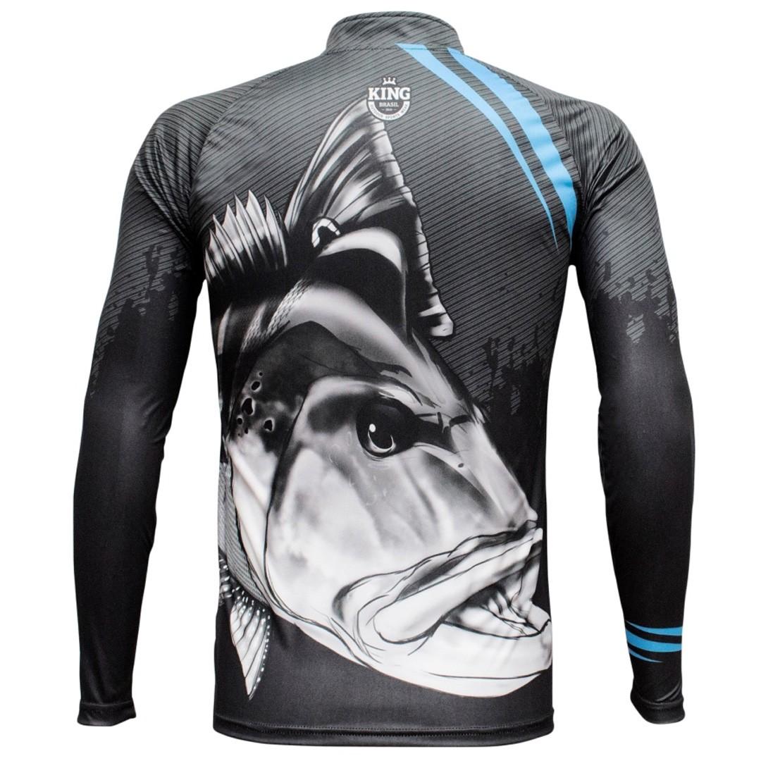 Camiseta Pesca com Proteção Solar UV King Tucunaré KFF606