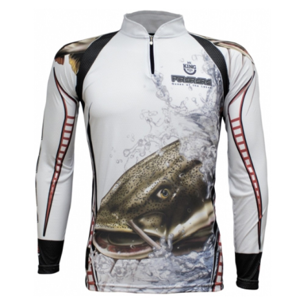 Camiseta Pesca Proteção Solar UV King Pirarara KFF303