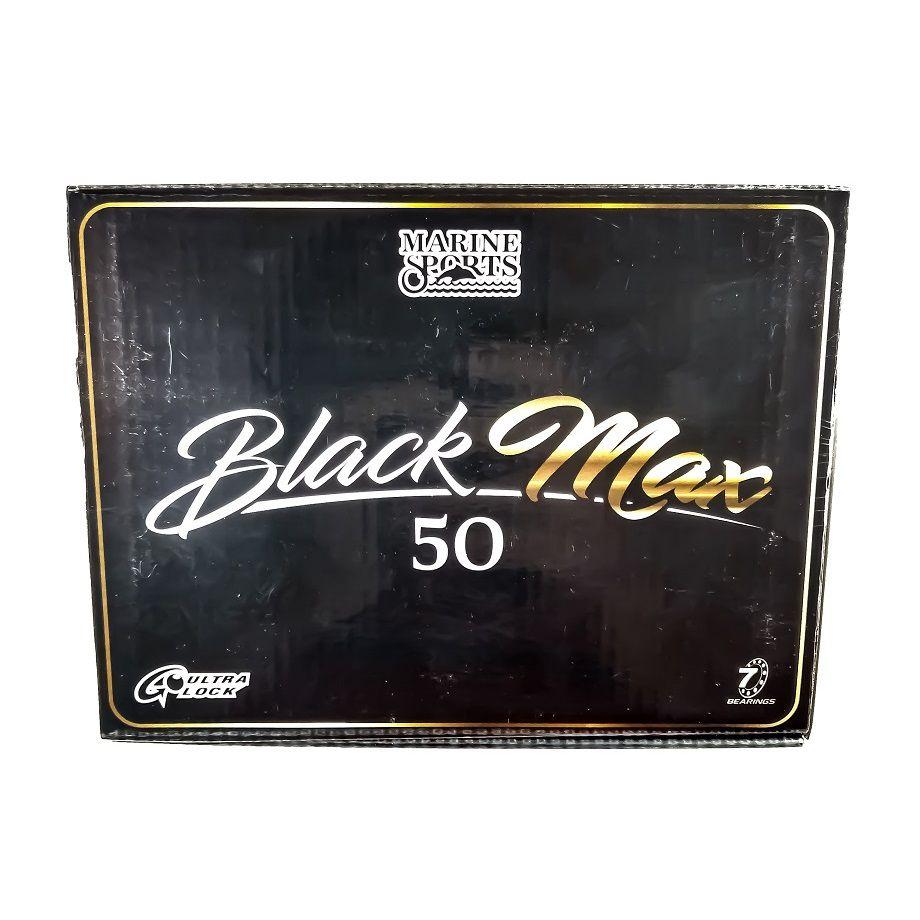 Carretilha Pesca Black Max 50 Marine Sports - Extra Pesada