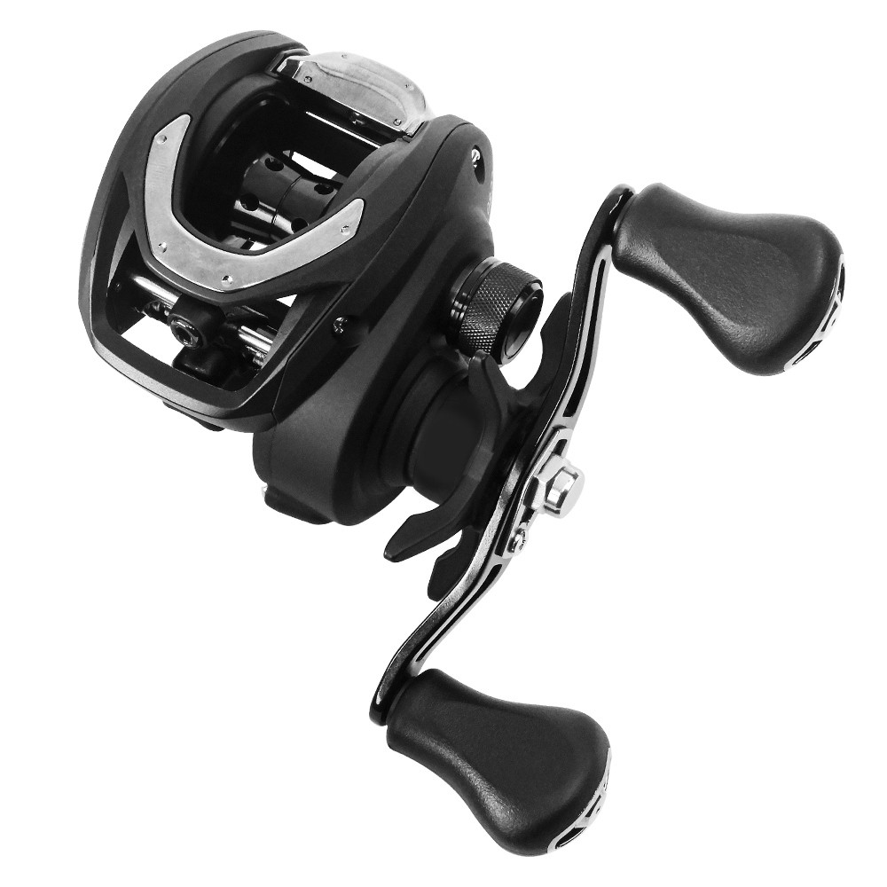 Carretilha Pesca Daiwa CC80 Magforce 5 Rolamentos Drag 7Kg 7.5:1