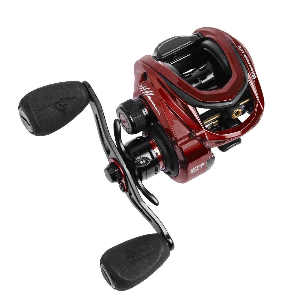 Carretilha Pesca Marine Sports Venator Lite 11 Rol 8.3:1 Vermelha