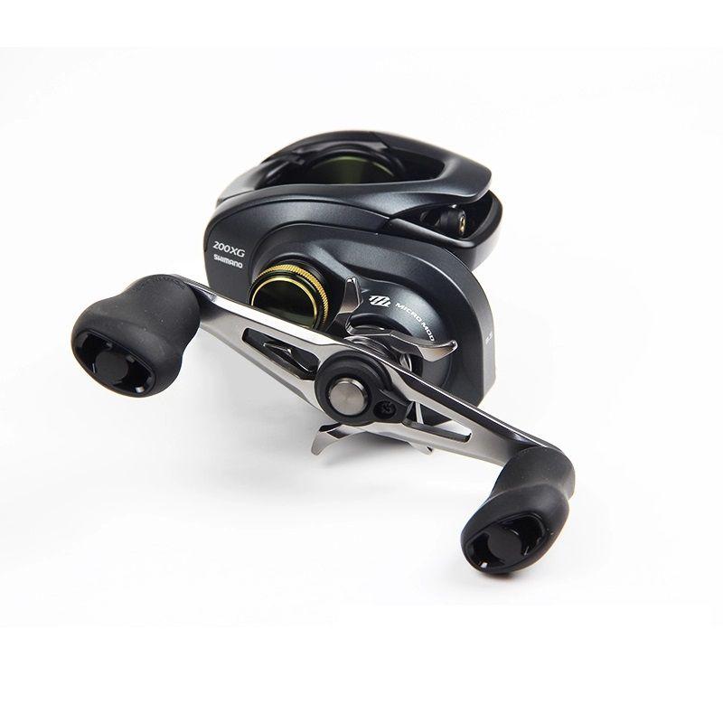 Carretilha Pesca Shimano New Curado 200 201 K XG 8.5:1 Direita Esquerda + Brinde