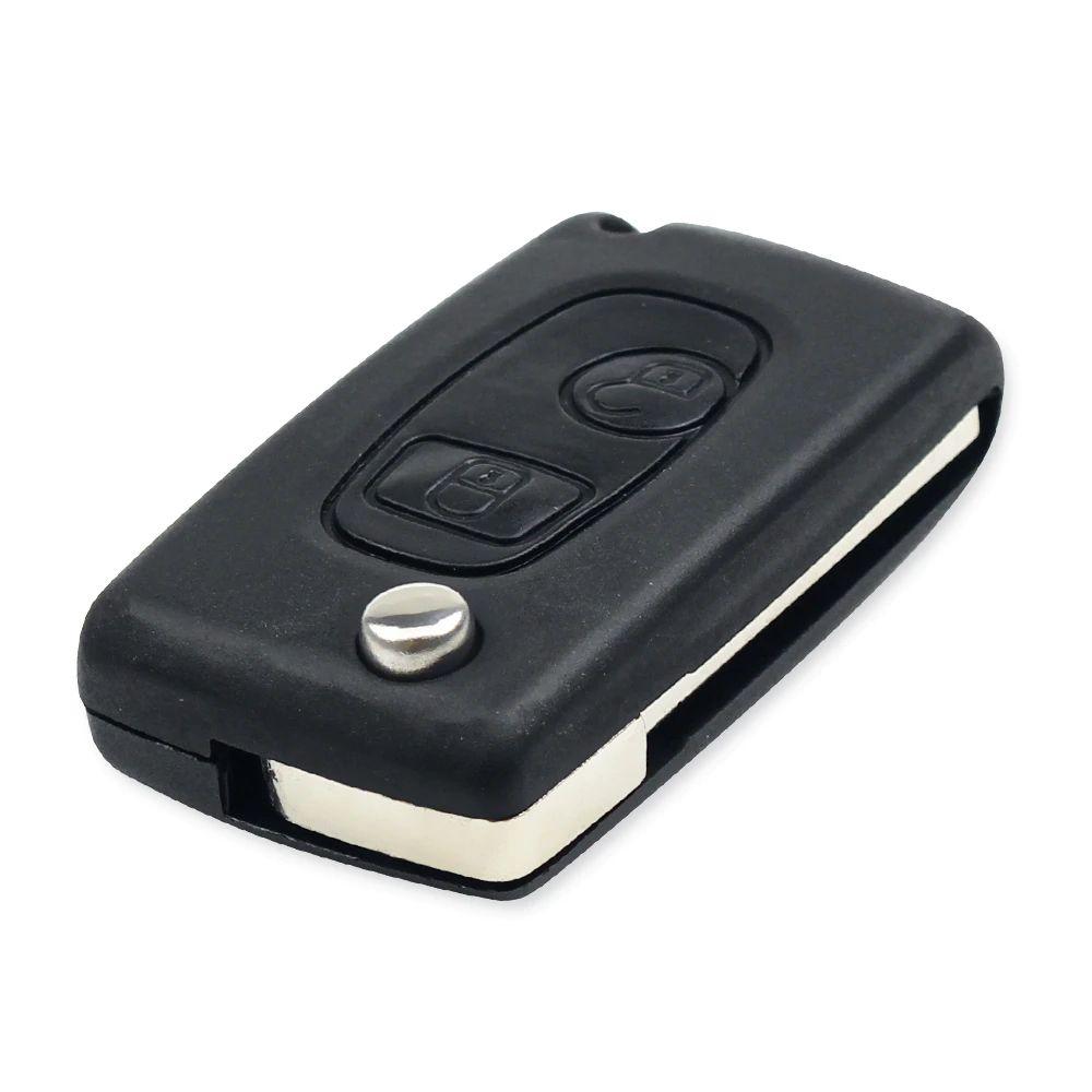 Chave Canivete Citroen Telecomando para Canivete 2B Preto Lamina L