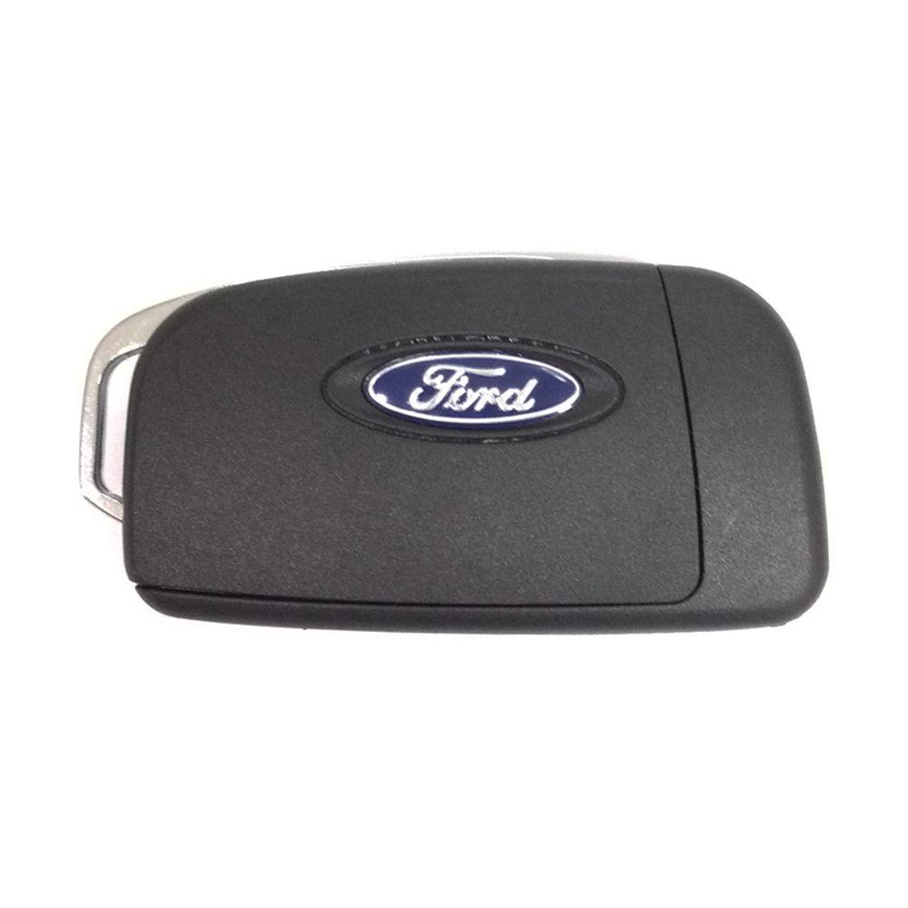 Chave Canivete Ford Focus New Fiesta Ecosport 3 Botões com Emblema e Lamina