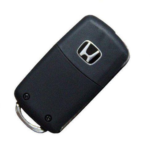 Chave Canivete Honda New Civic Crv Fit City 3 Botões + Panic
